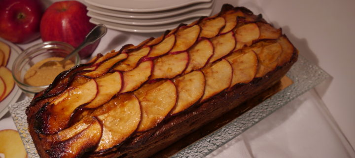 Cake aux pommes ultra moelleux